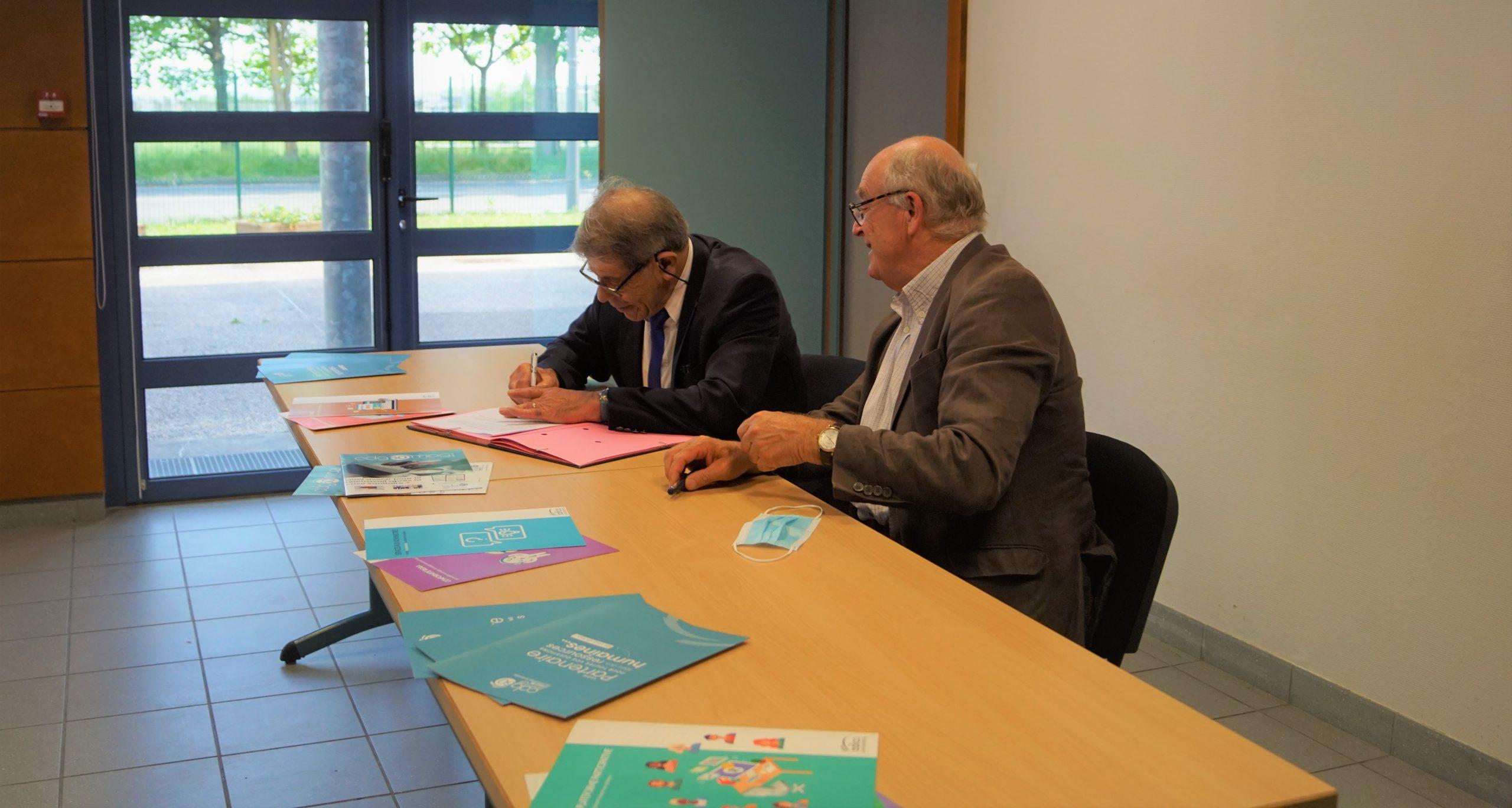 Le Centre de Gestion de l'Oise et l'Adico officialisent leur partenariat !